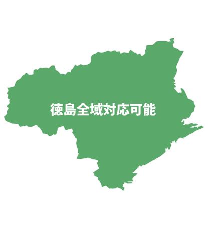 徳島県地図